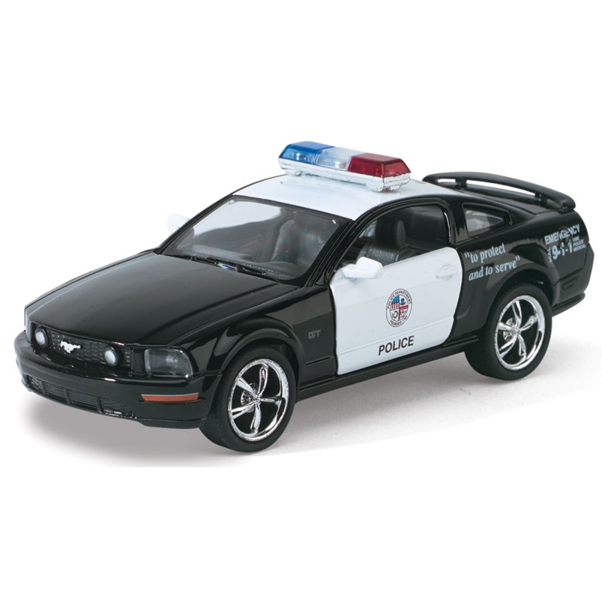 Kinsmart Auto Ford Mustang GT Policie
