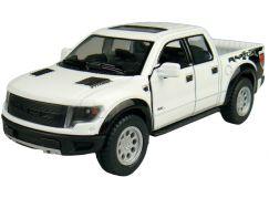 Kinsmart Auto Ford Pick-Up na zpětné natažení 13cm - Bílá