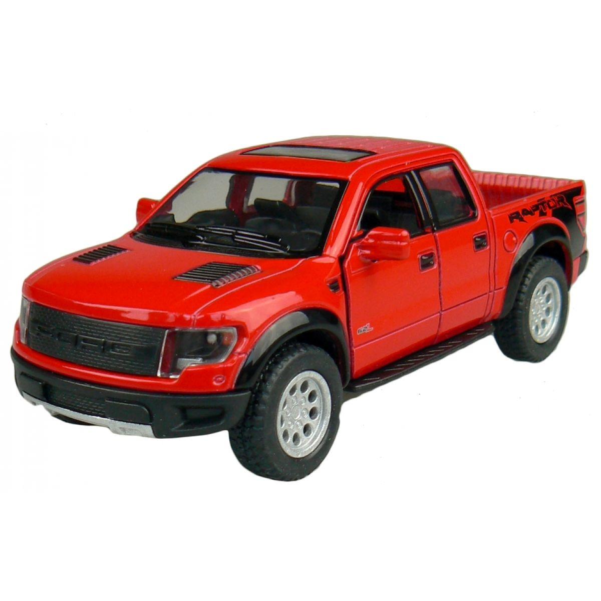 Kinsmart Auto Ford Pick-Up na zpětné natažení 13cm - Červená