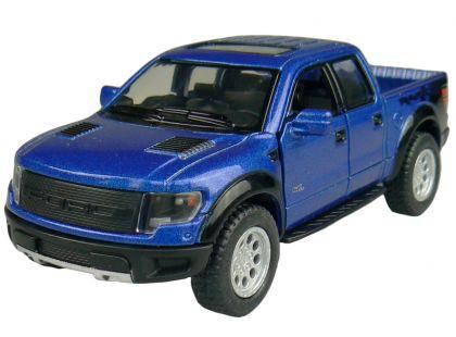 Kinsmart Auto Ford Pick-Up na zpětné natažení 13cm - Modrá
