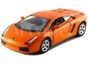 Kinsmart Auto Lamborghini Gallardo na zpětné natažení 12cm - Oranžová