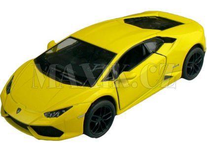 Kinsmart Auto Lamborghini Huracan 12cm - Žlutá