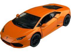 Kinsmart Auto Lamborghini Huracan 12cm - Oranžová
