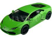 Kinsmart Auto Lamborghini Huracan 12cm - Zelená