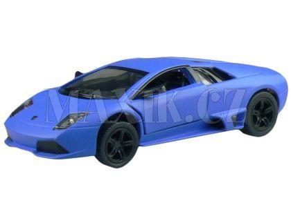 Kinsmart Auto Lamborghini na zpětné natažení 13 cm - Murcielago modré