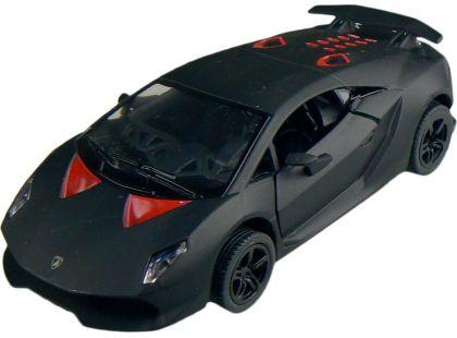 Kinsmart Auto Lamborghini Sesto Elemento 12cm - Černá