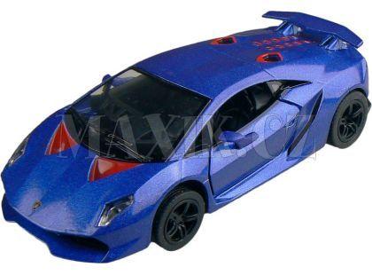Kinsmart Auto Lamborghini Sesto Elemento 12cm - Modrá
