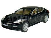 Kinsmart Auto Porsche Panamera S na zpětné natažení 12,5cm - Černá