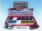 Kinsmart Auto Range Rover Sport na zpětné natažení 13cm 2