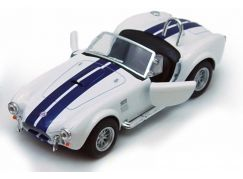 Kinsmart Auto Shelby Cobra 427 S/C - Bílá