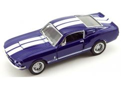 Kinsmart Auto Shelby GT-500 kov 13 cm na zpětné natažení