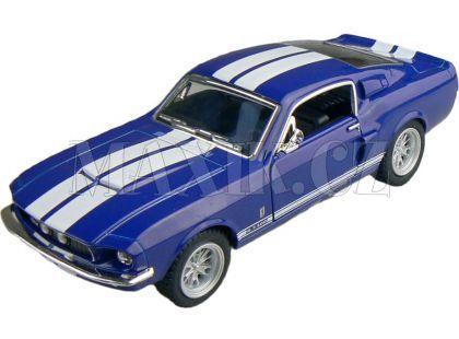 Kinsmart Auto Shelby GT500 1967 - Modrá