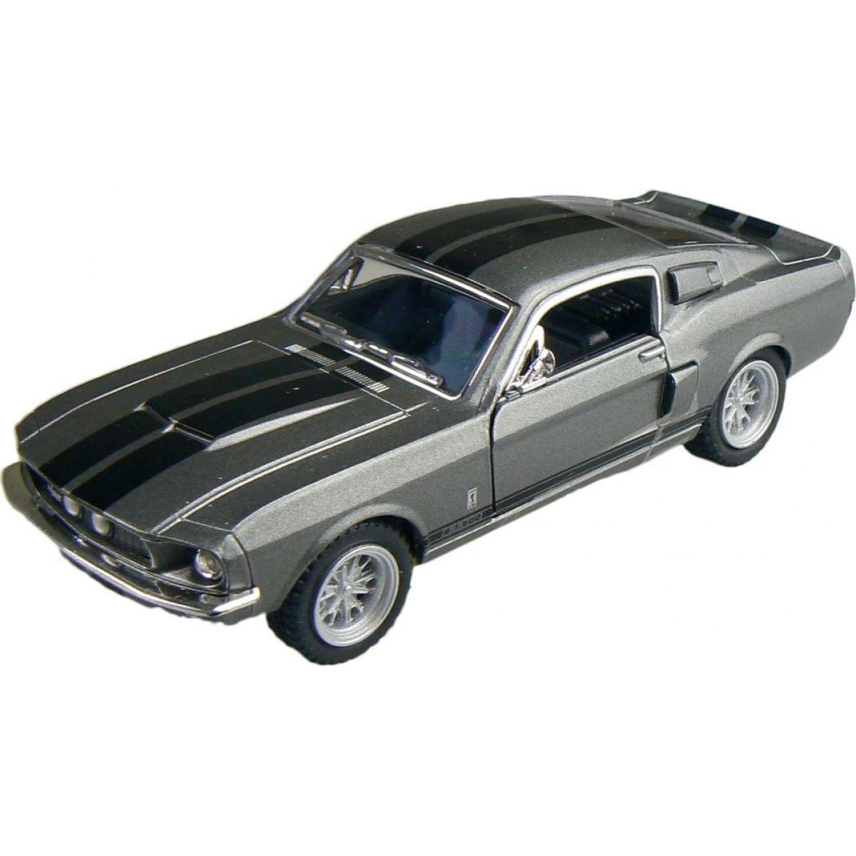 Kinsmart Auto Shelby GT500 1967 - Stříbrná