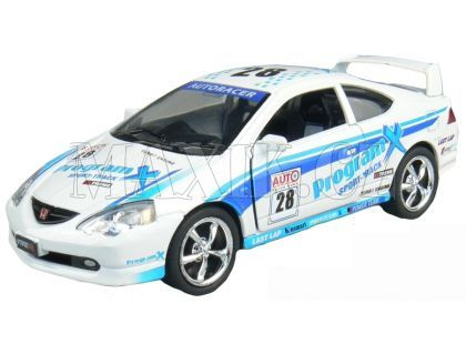 Kinsmart Auto Sportovní na zpětné natažení 12,5cm - Honda Inegra Type R