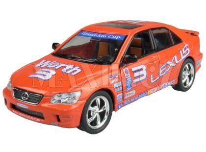 Kinsmart Auto Sportovní na zpětné natažení 12,5cm - Lexus IS 300