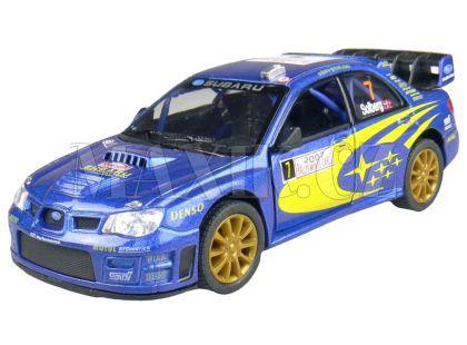 Kinsmart Auto Sportovní na zpětné natažení 12,5cm - Subaru Impreza WRC