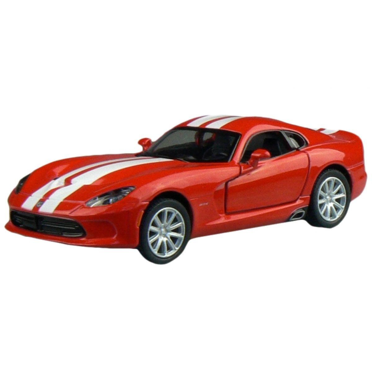 Kinsmart Auto SRT Viper GTS 12,7cm - Červená