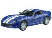 Kinsmart Auto SRT Viper GTS 12,7cm - Modrá