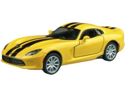 Kinsmart Auto SRT Viper GTS 12,7cm - Žlutá