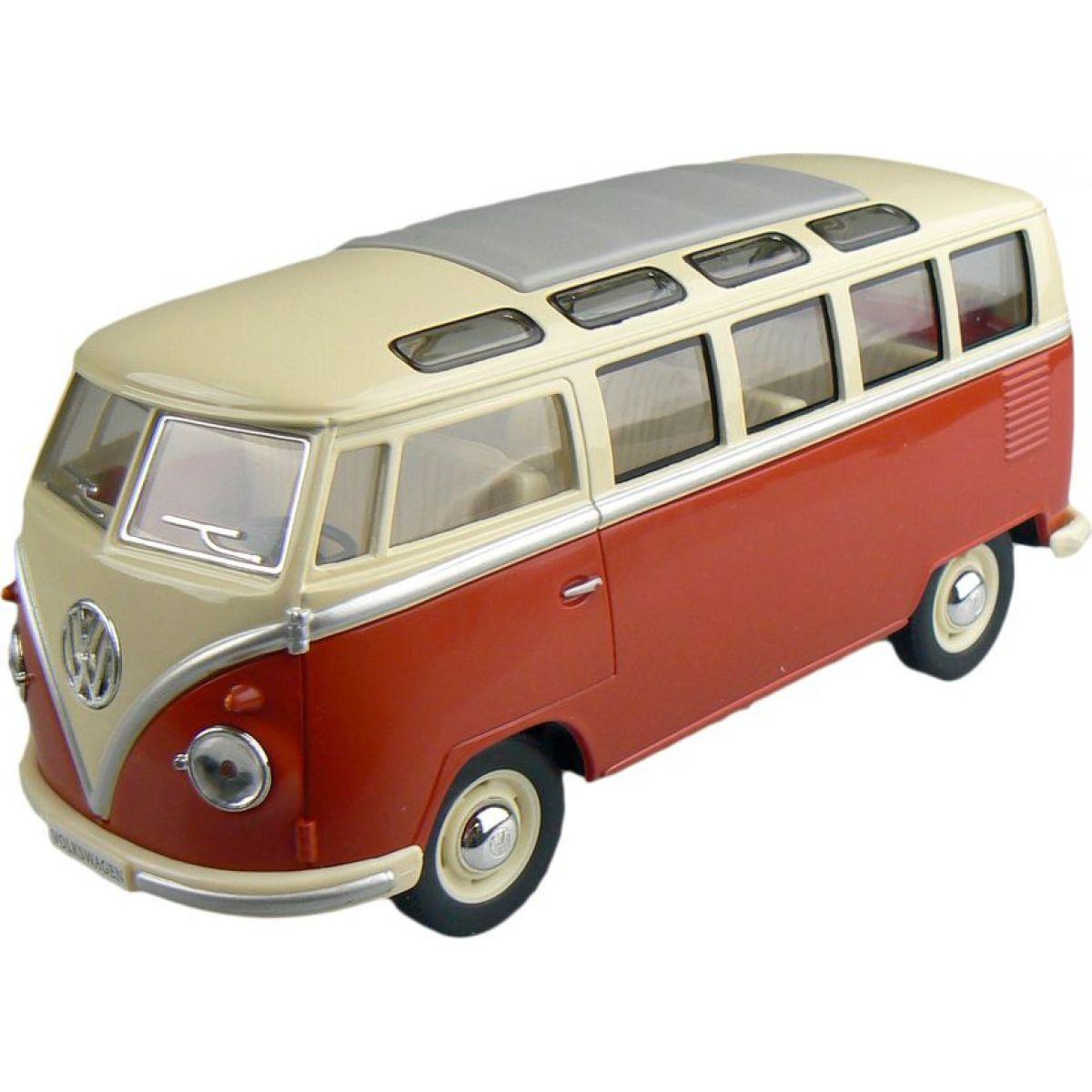 Kinsmart Auto Volkswagen Classical 17cm - Hnědá