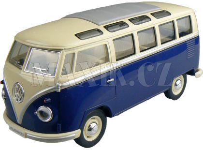 Kinsmart Auto Volkswagen Classical 17cm - Modrá