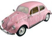 Kinsmart Auto VW Classical Beetle 1967 - Růžová