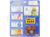 Klein Euro bankovky a mince