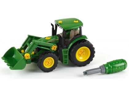 Klein John Deere Traktor s předním nakladačem