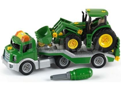 Klein John Deere Transporter traktorem