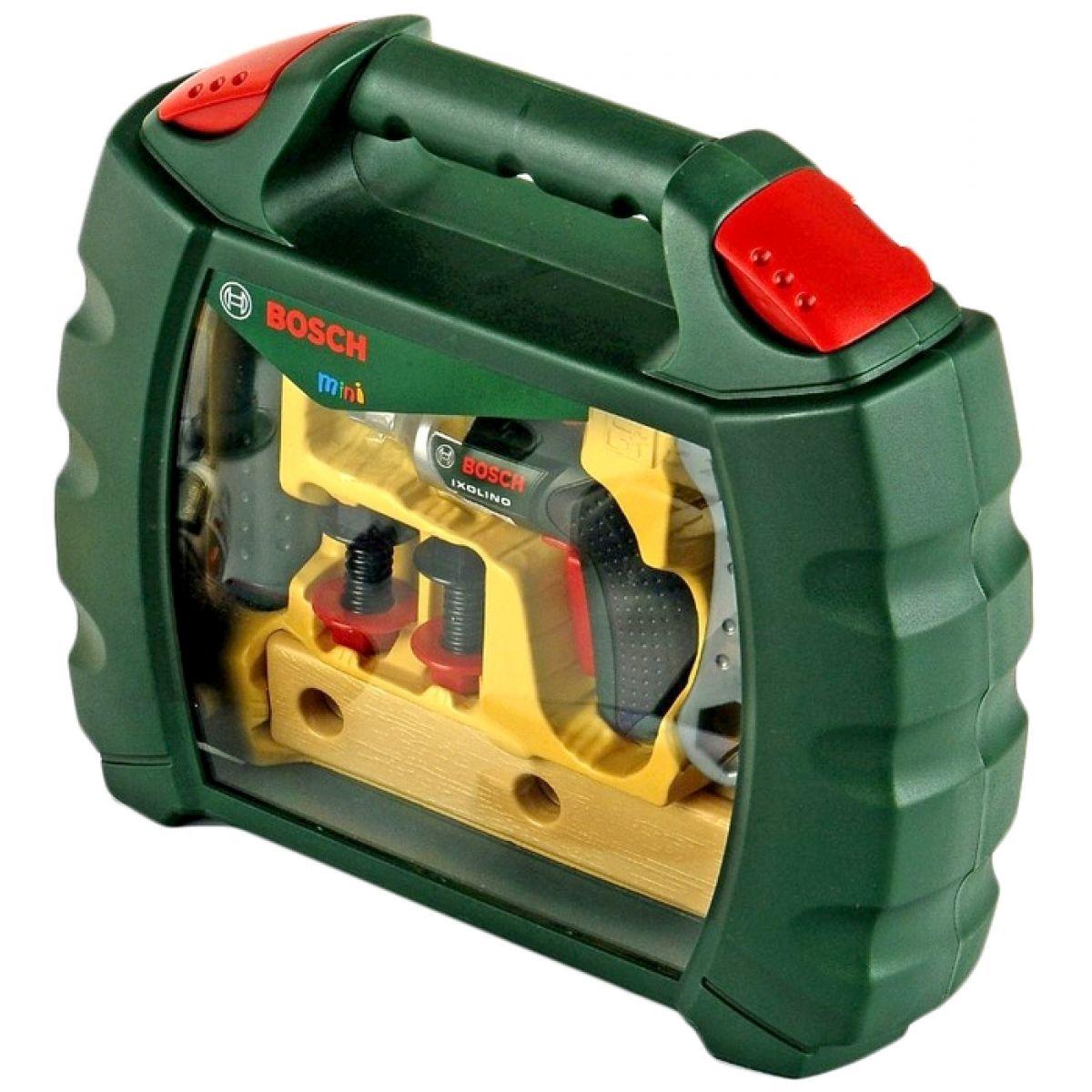 Klein Pracovní kufřík Bosch s nářadím a aku-šroubovákem