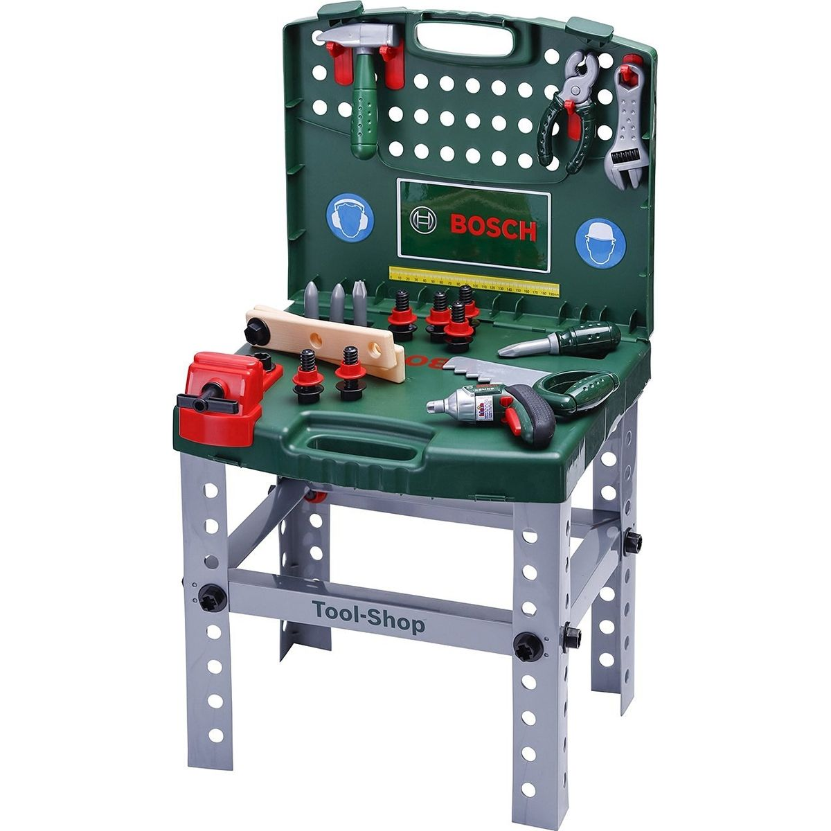 Klein Pracovní stůl v kufříku s akušroubovákem Bosch