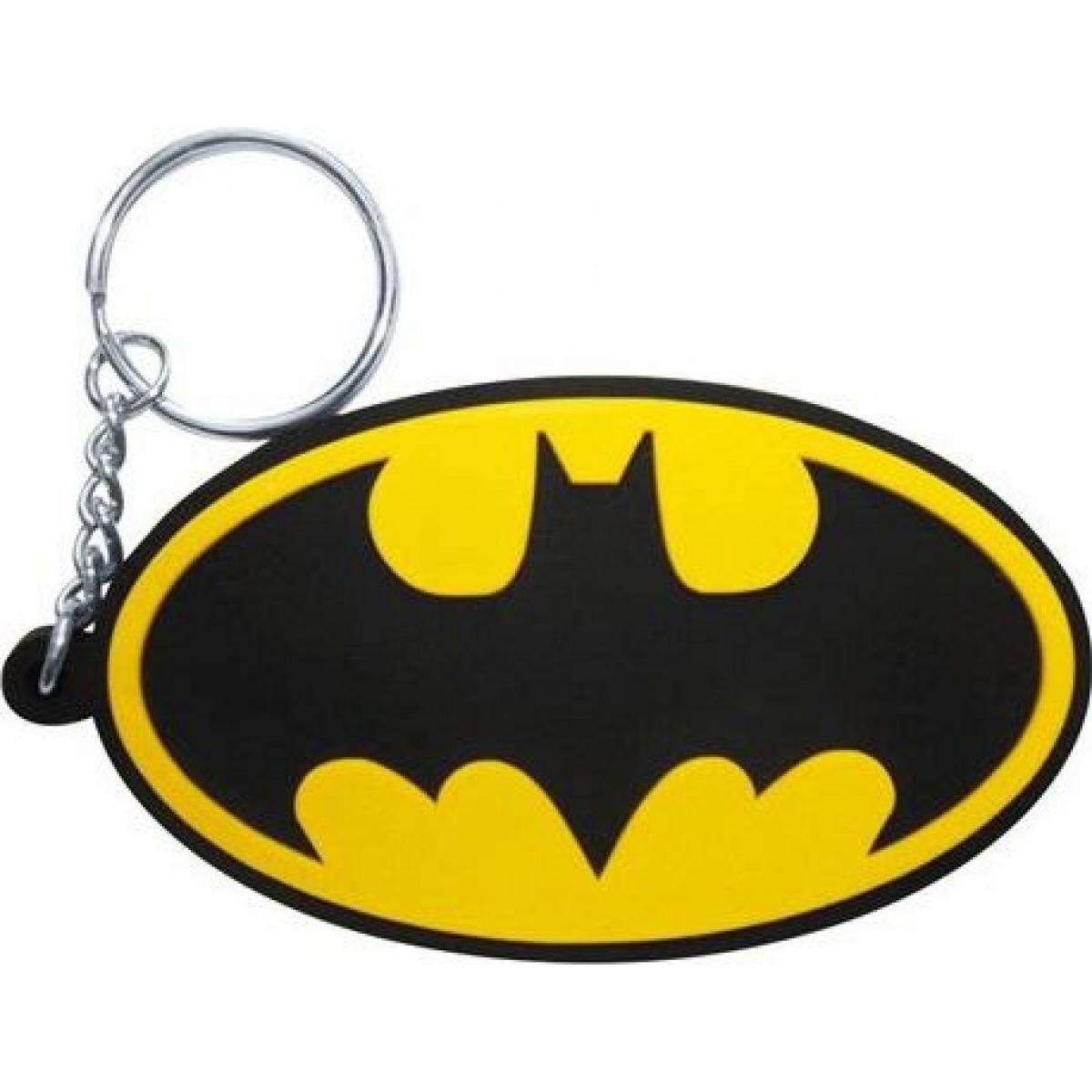Klíčenka gumová Batman