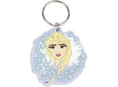 Klíčenka gumová Frozen Elsa
