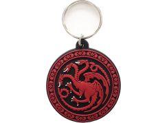 Klíčenka gumová Hra o Trůny Targaryen