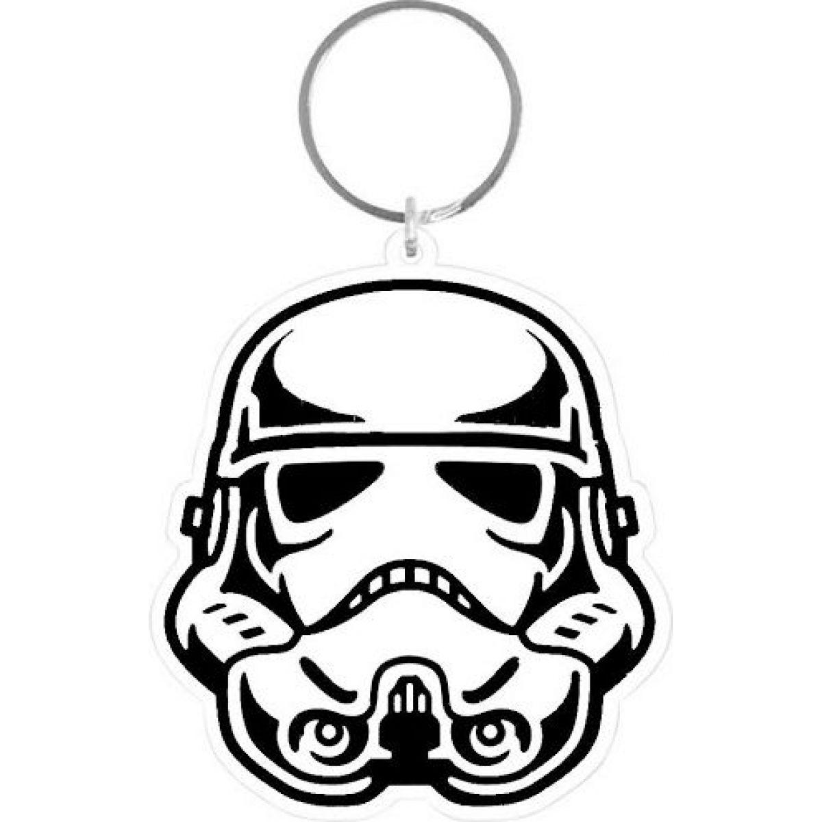 Klíčenka gumová Star Wars Strom Trooper
