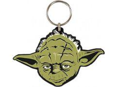 Klíčenka gumová Star Wars Yoda
