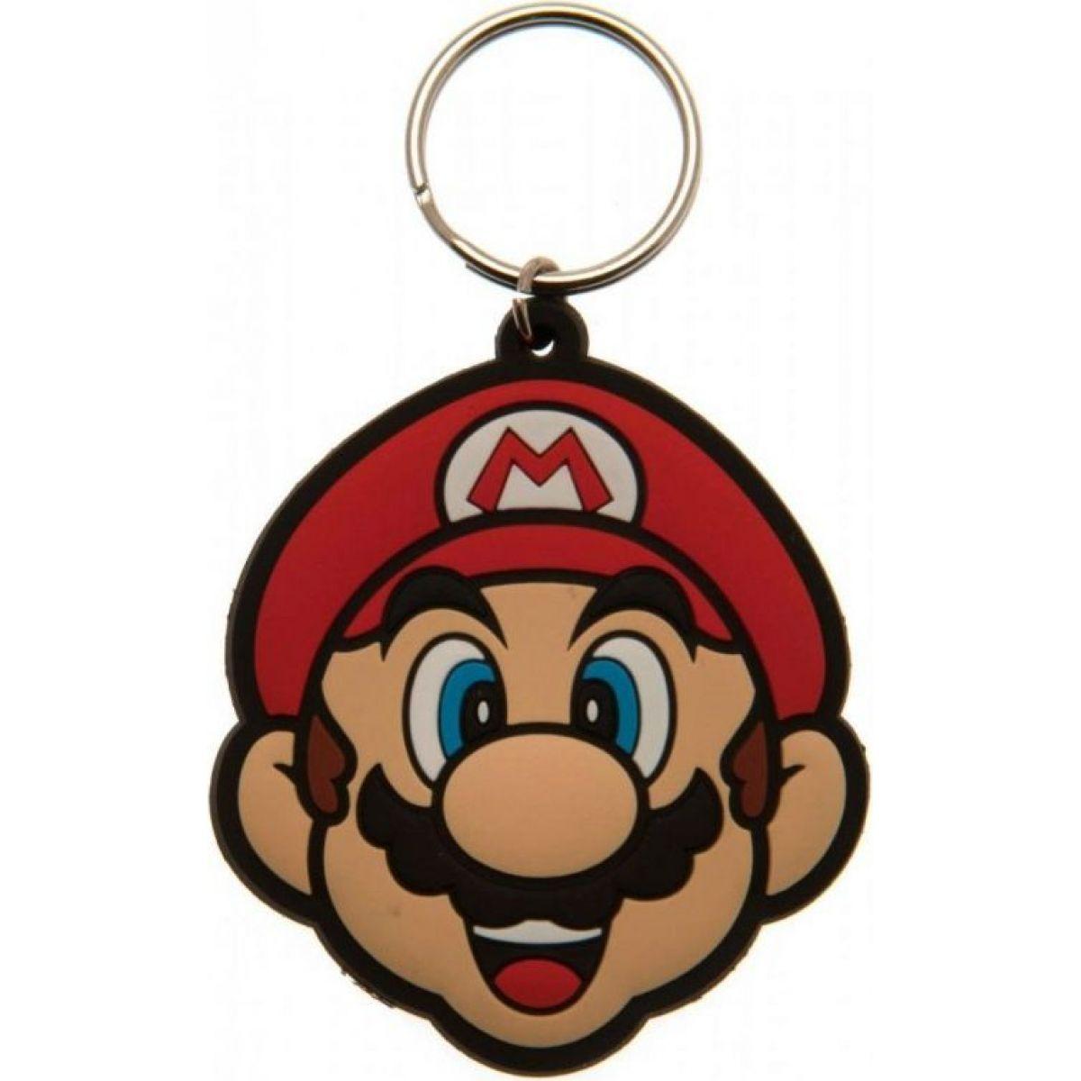 Klíčenka gumová Super Mario