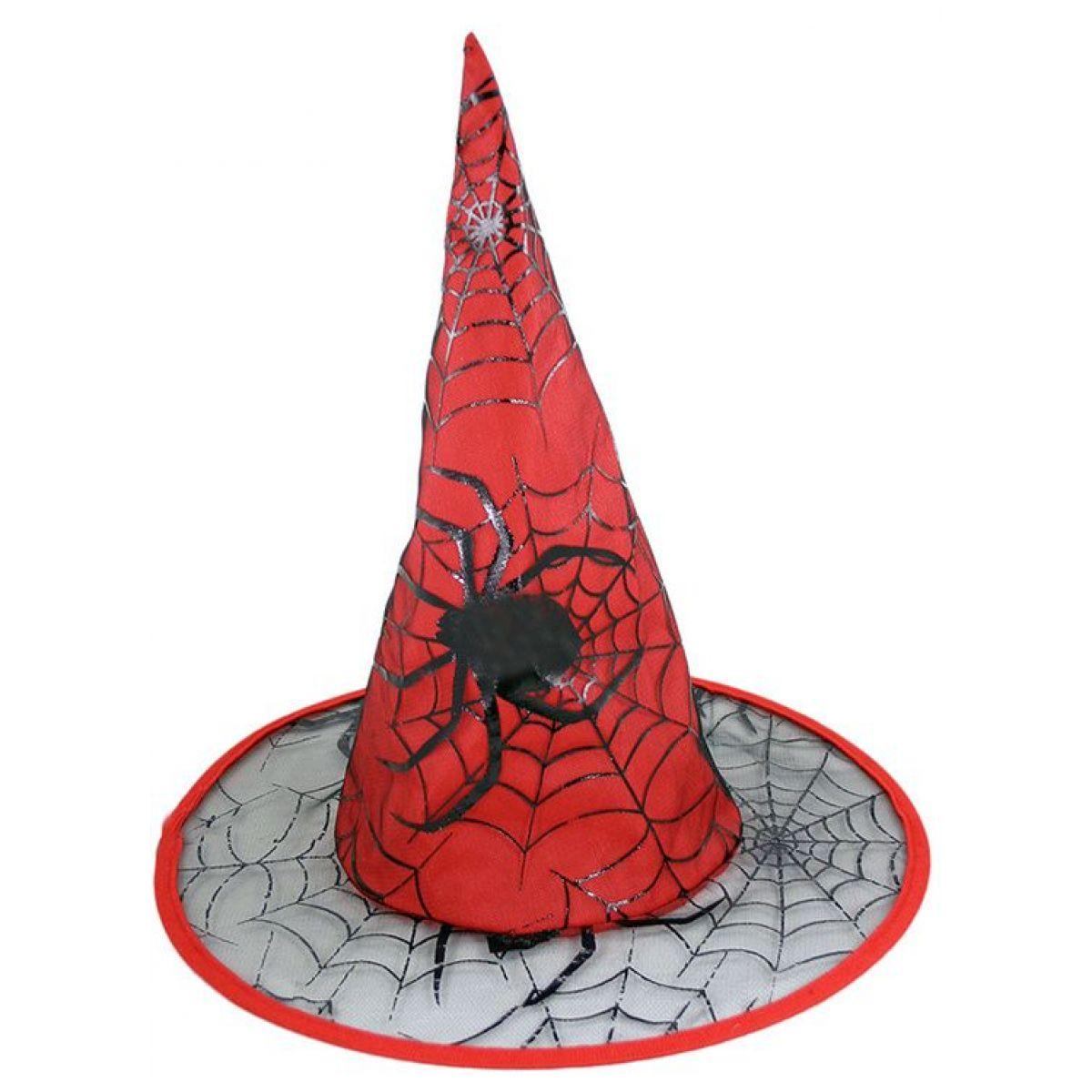 Klobouk Čarodějnický červený dospělý