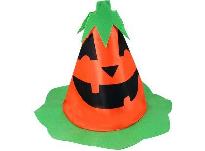 Klobouk dětský Halloween dýně