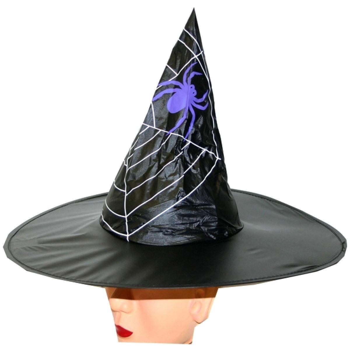 Klobouk Halloween s pavučinou