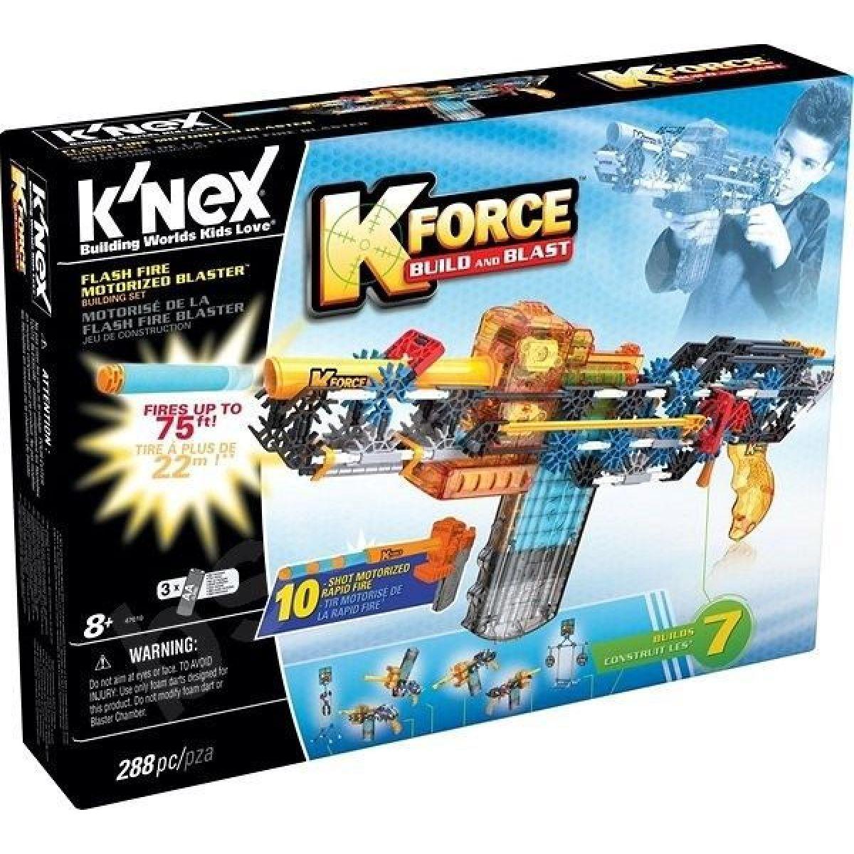 Knex Stavebnice Flash Fire Blaster