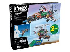 Knex Stavebnice Letadlo Turbo Jet 2v1