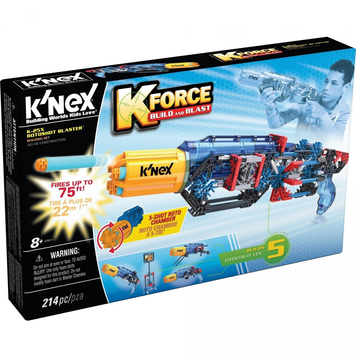 Knex Stavebnice Pistole K 25X Roto Blaster