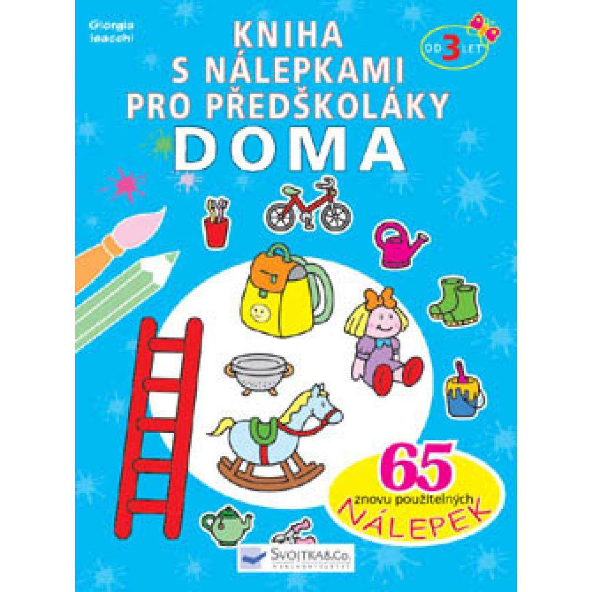 Kniha s nálepkami pro předškoláky