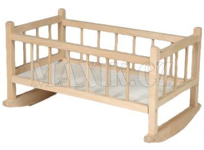 Kobelár Kolébka dřevěná pro panenky