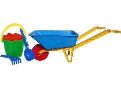 Kolečko dětské na písek plastové velké s příslušenstvím