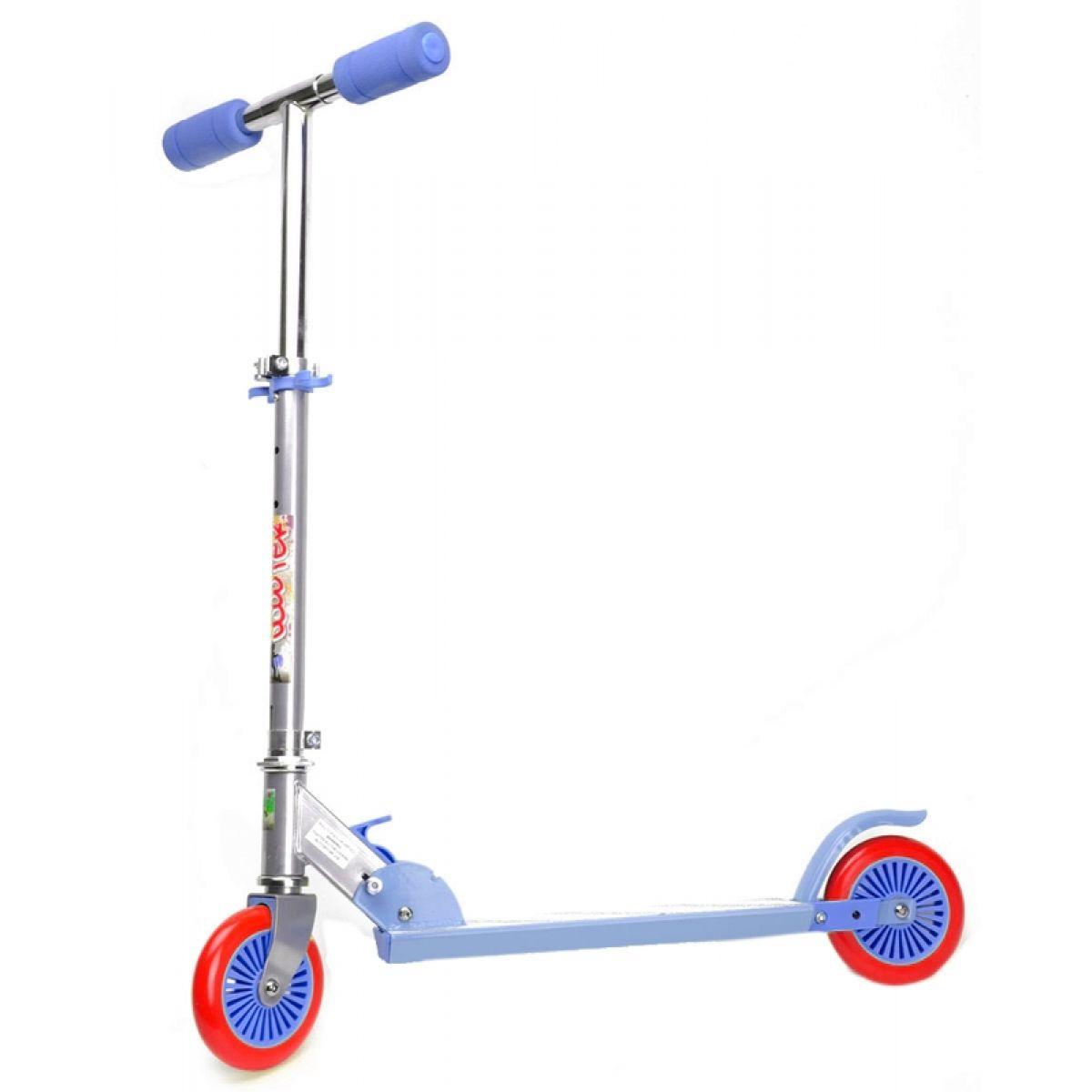Koloběžka scooter 32x70x66cm - Modrá