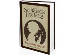 Komiks, v němž jsi hrdinou Sherlock Holmes Případ čtyř případů