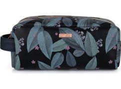 Kosmetická taška malá Dark leaves