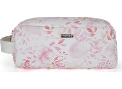 Kosmetická taška malá Pink flowers